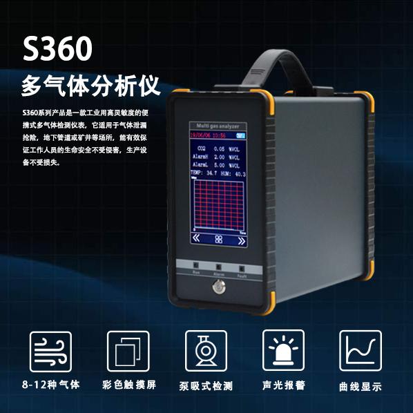 雷竞技网站S360手持式雷竞技App分析仪